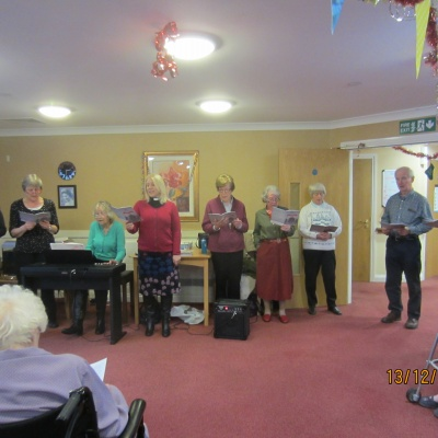 Carol Singing at Ashbourne Court