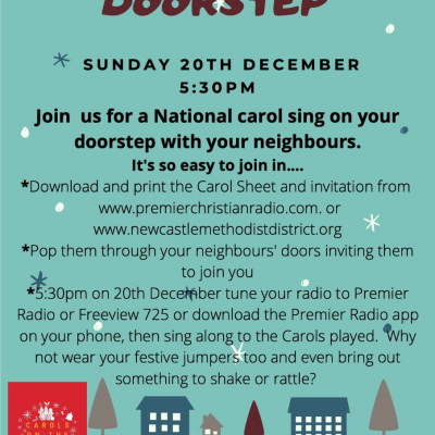 Carols on the Doorstep Poster