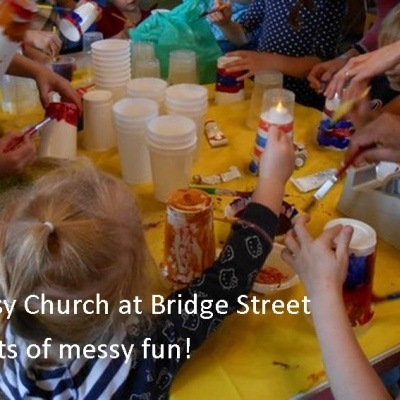 Messy Church - messy fun