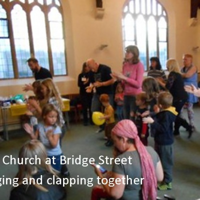 Messy Church - singing
